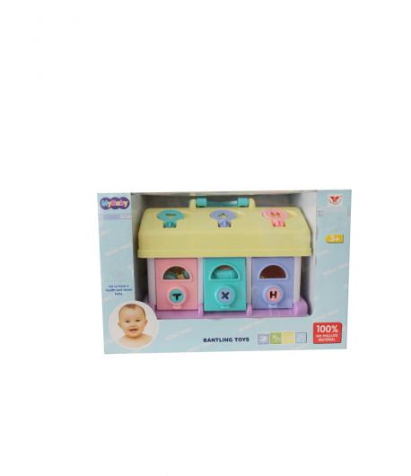 Baby toys szín és forma azonosító