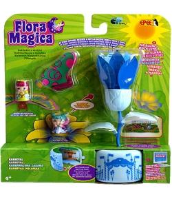 Flora Magica Varázslatos virág pillangóval játékszett