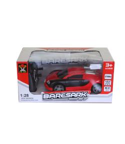Távirányítós autó (piros alapon fekete)