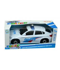 Elemes rendőrautó dobozban
