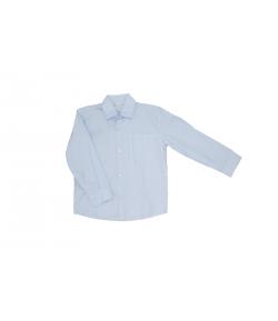 Fehér alapon -kék csíkos elegáns ing