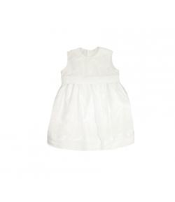 Fehér selyem keresztelőruha 80-as
