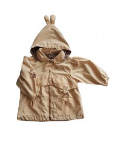 Drapp színű átmeneti kislány kabát