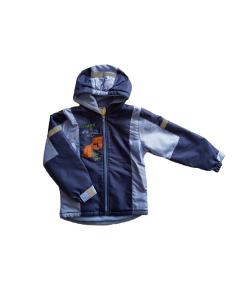 Sötét kék-világos kék színű fiú dzseki 98-as