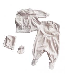 Plüss 4 részes bébi garnitúra 68-as