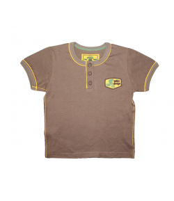 Mikka-Barna póló, elől gombos 98-as