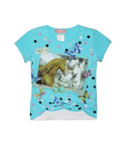 Marions- Vékony sztreccspamut póló 104-es