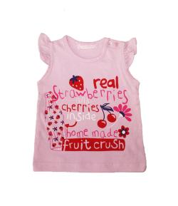 Mc baby- Rózsaszín ujjatlan kislány atléta 6 hónap