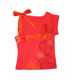 Mc baby-Asszimetrikus szabású kislány trikó