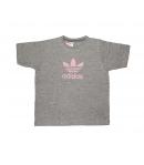 Adidas -Szürke kislány póló