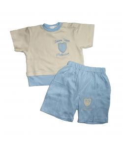 Trimex- Nyers -világos kék színű nyári kétrészes 68-as