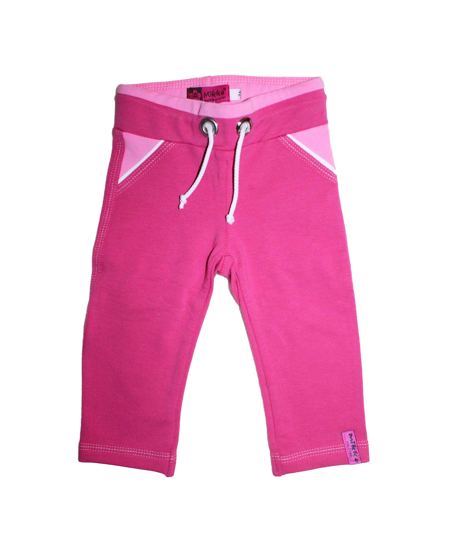 Mikka- Sötét pink pamut nadrág 74-es a776ab3c64