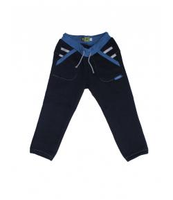 Mikka - Sötét kék színű, vastagabb, belül bolyhos szabadidő nadrág