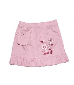Lollipop - Rózsaszín pamutvászon kislányszoknya 104-es