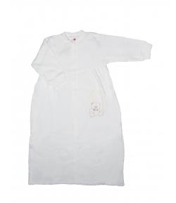 Király G. - Fehér színű, vékony pamut hosszú ujjú hálózsák 80-86-os
