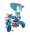 Egeres fedeles tricikli, kék