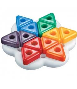 Quercetti Háromszög pötyi készlet kicsiknek 13 darabos