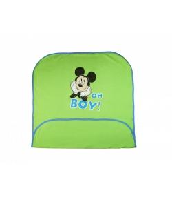 Disney Mickey bébi takaró zöld