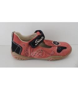 Mályva/s.kék Nubuk szanda-cipő Siesta