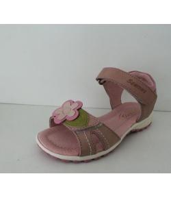 Szamos Mályva-rózsaszín tépős lányka szandál - Esztétikai hibás