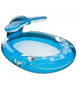 Spriccelős bálna medence 208x157x99cm - Intex