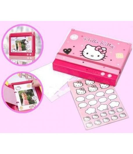 Hello Kitty kreatív album hangfelvevővel /rózsaszín/