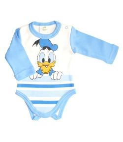 Disney Donald hoszzú ujjú kombidressz 56-os