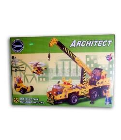 ARCHITECT Műanyag építő játék 271 db-os