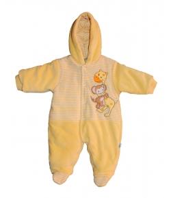 F.S.-Baby -Gyönyörű plüss sárga levegőztető (50-es)