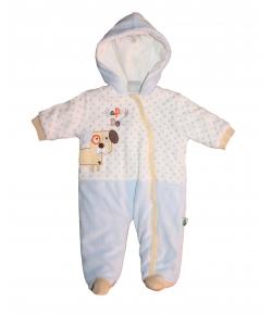 F.S.-Baby -Gyönyörű plüss csillagmintás - kutyusos levegőztető