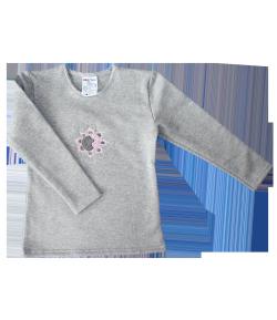 Boniface bolyhos hosszú ujjú póló - Virág