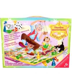 Klasszikus mesetörténetek - Pinokkió társasjáték