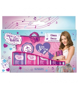 Violetta üvegfesték 6db-os