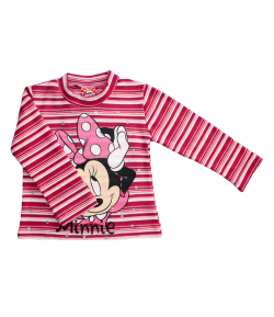 Disney Minnie bolyhos hosszú ujjú póló - Sztreccs 92-es