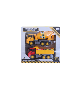 Játék teherautó 2db-os