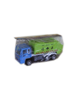 Szemétszállító autó (zöld)