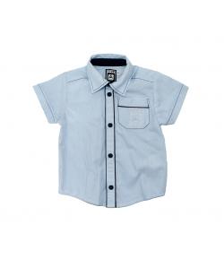Mikka világoskék fehér csíkos ing