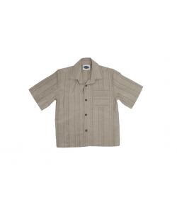 Drapp rövidujjú ing benne sötét csíkozással