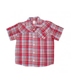 Piros kockás klasszikus ing 104-es