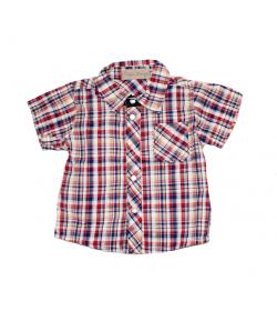 Vidám színű kockás ing 74-es