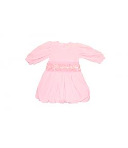 Plüss rózsaszín bébi ruha