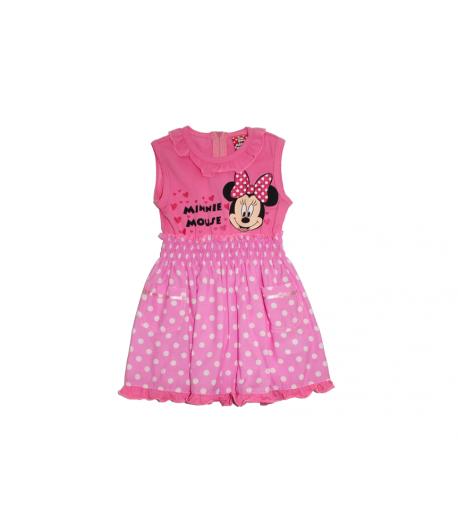 0b6bfbb01b Minnie egeres ujjatlan rózsaszín ruha 86-os