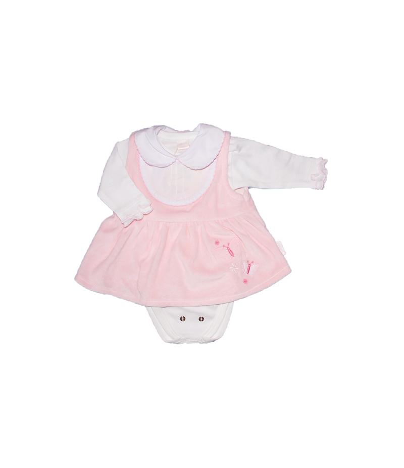 3 részes plüss rózsaszín kislány garnitúra 62-es 9835a0bf2e