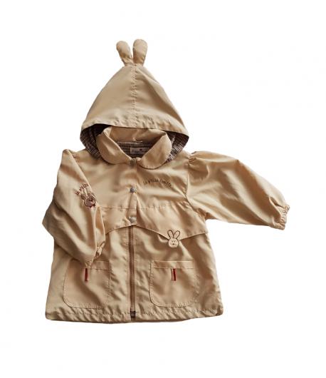 e4bf845f47 Drapp színű átmeneti kislány kabát
