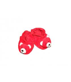 Pamut piros kocsicipő