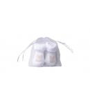 Király G. - baby zokni 0-6 hó (fehér)