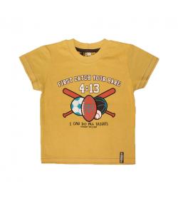 Mikka- Mustársárga fiú póló