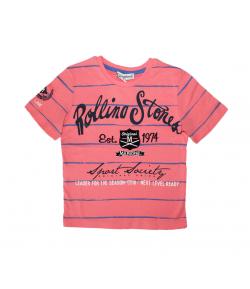 Marions- Lazac színű fiú póló 104-es