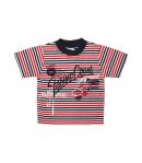 Boniface-S.kék-fehér-piros csíkos fiú póló