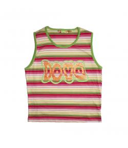 Mc baby- Losan - Vidám nyíri színekben gazdag csíkos kislány trikó 14 év -159 cm